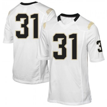 Men's Anthony Catotti UCF Knights Game White Football College Jersey