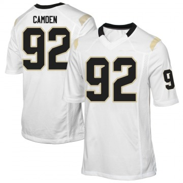 Men's Austin Camden UCF Knights Game White Football College Jersey