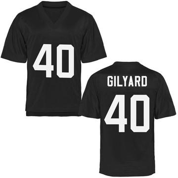 Men's Eriq Gilyard UCF Knights Game Black Football College Jersey