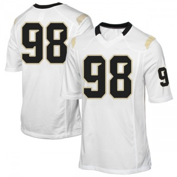 Men's Malcolm Williams UCF Knights Game White Football College Jersey