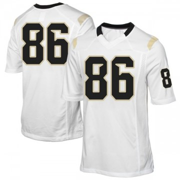 Men's Michael Colubiale UCF Knights Replica White Football College Jersey