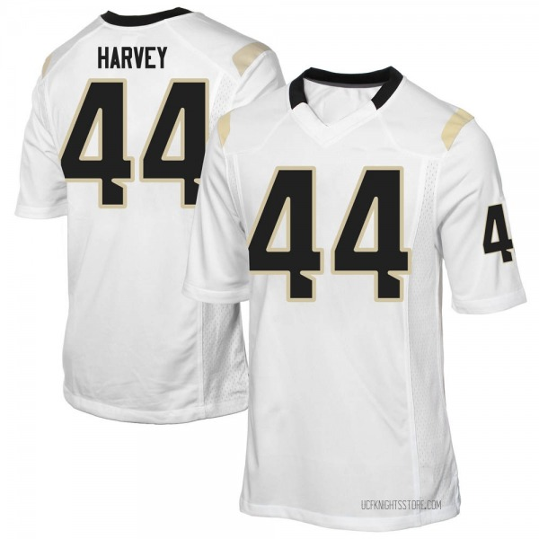 Men's RJ Harvey UCF Knights Replica White Football College Jersey
