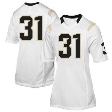 Women's Anthony Catotti UCF Knights Game White Football College Jersey