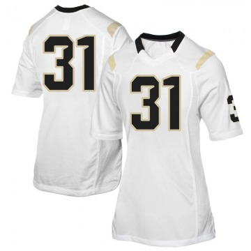 Women's Anthony Catotti UCF Knights Replica White Football College Jersey