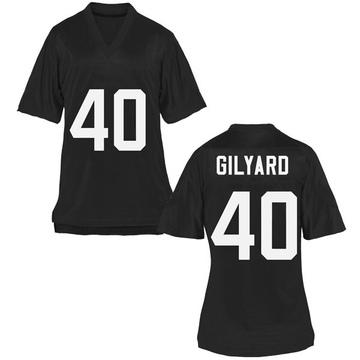 Women's Eriq Gilyard UCF Knights Replica Black Football College Jersey