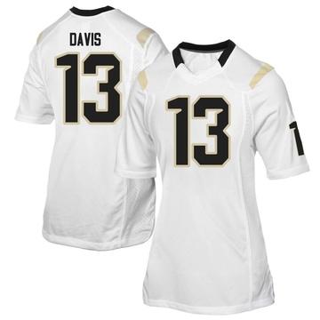 Women's Gabriel Davis UCF Knights Replica White Football College Jersey