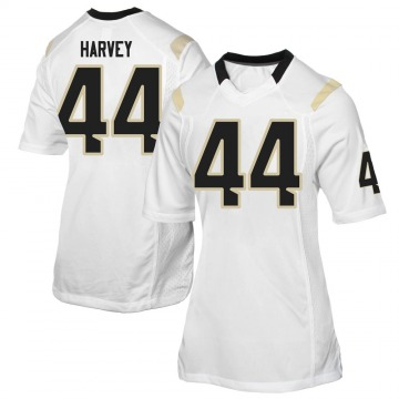 Women's RJ Harvey UCF Knights Game White Football College Jersey