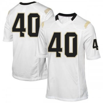 Youth Eriq Gilyard UCF Knights Game White Football College Jersey