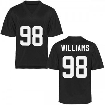 Youth Malcolm Williams UCF Knights Game Black Football College Jersey