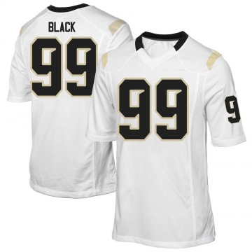 Youth Tyrese Black UCF Knights Game White Football College Jersey